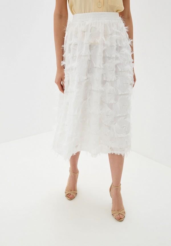 женская юбка by swan, белая