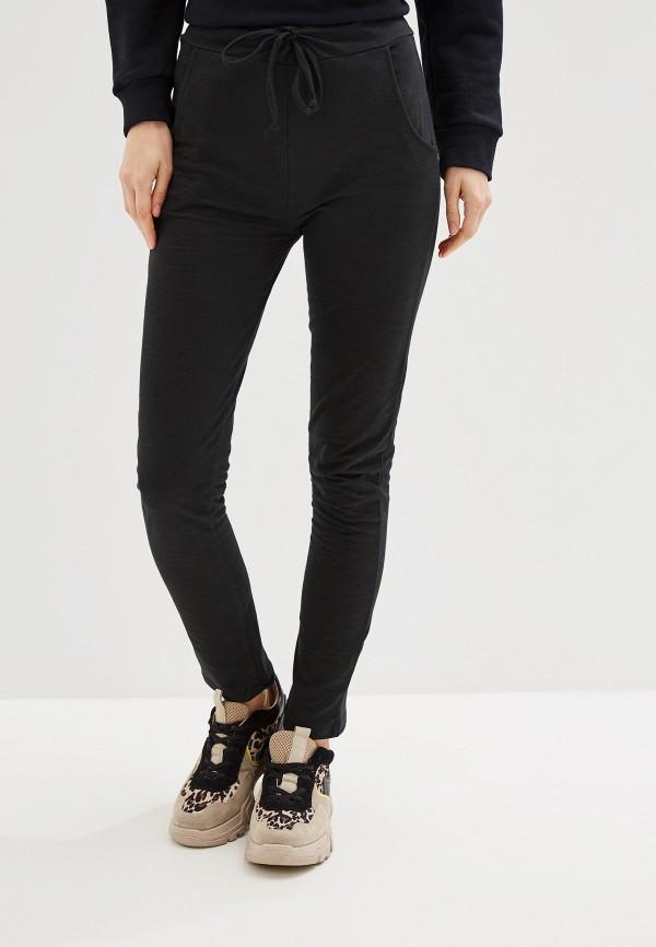 женские спортивные спортивные брюки by swan, черные