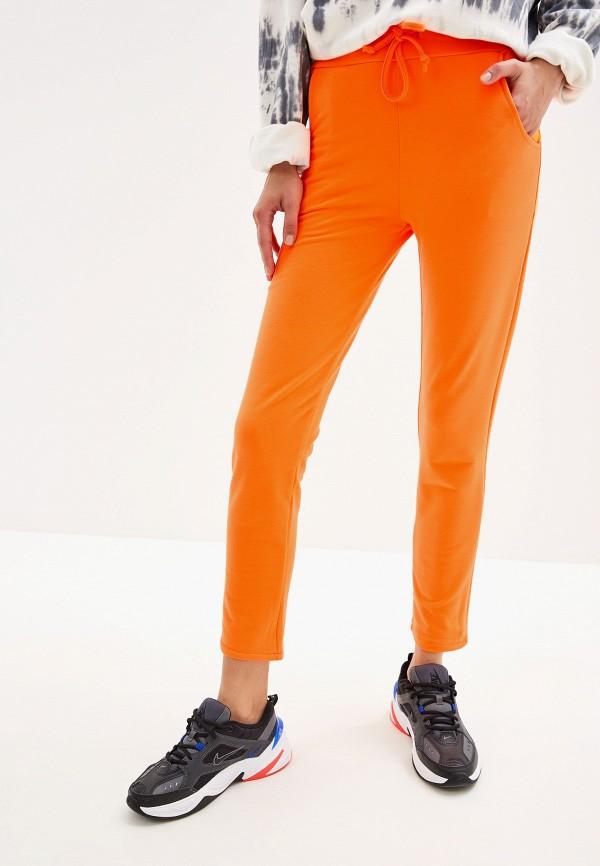 женские спортивные брюки by swan, оранжевые