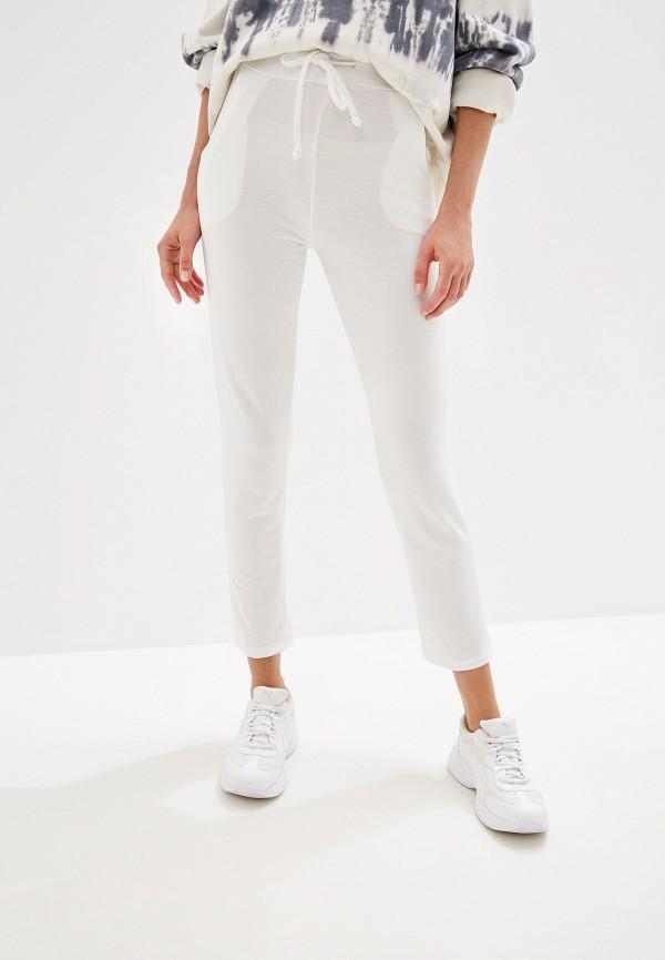женские спортивные спортивные брюки by swan, белые