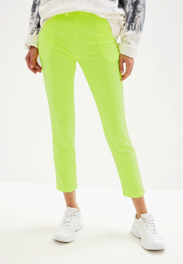 женские спортивные спортивные брюки by swan, желтые