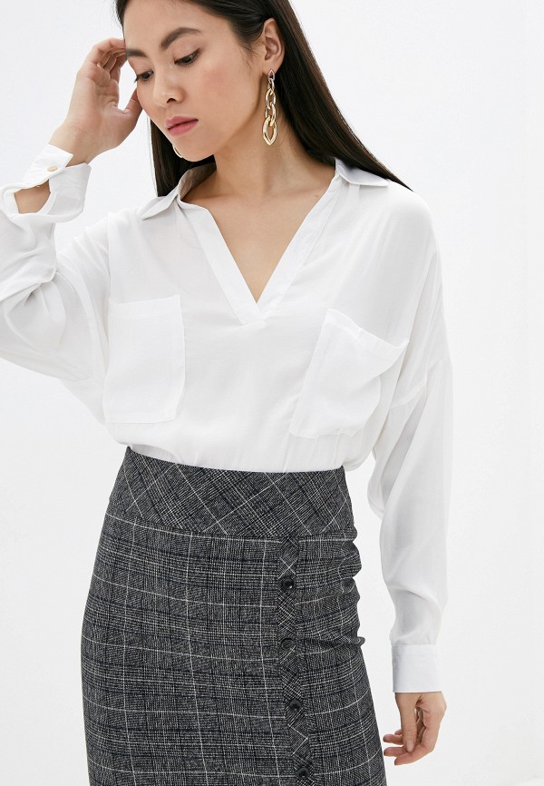 женская блузка by swan, белая