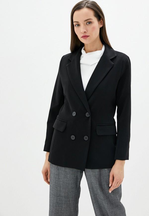 женский пиджак by swan, черный