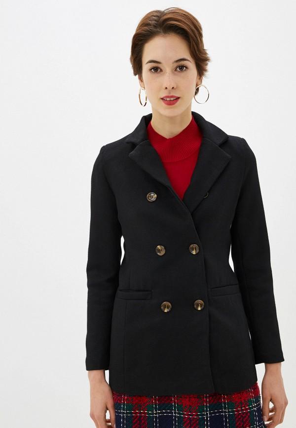 женское пальто by swan, черное