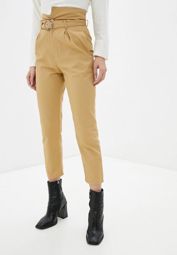 женские повседневные брюки by swan, бежевые