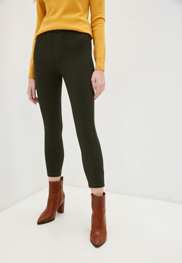 женские повседневные брюки by swan, зеленые