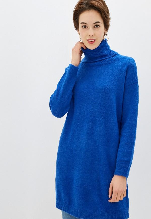 женский свитер by swan, синий