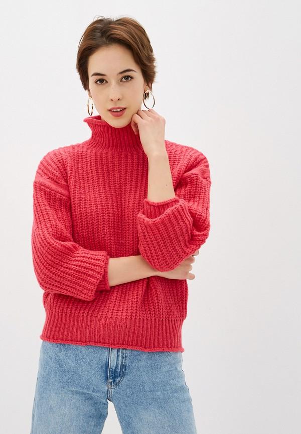 женский свитер by swan, розовый