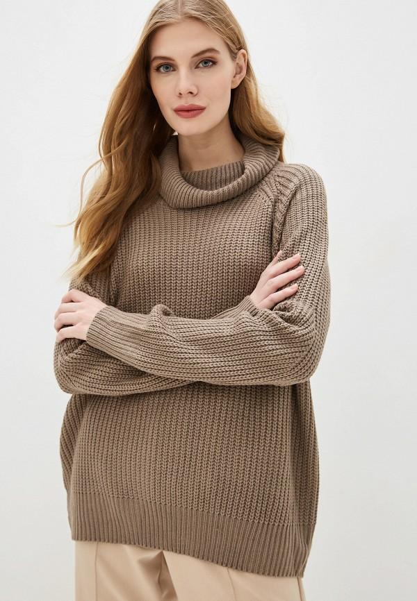 женский свитер by swan, серый