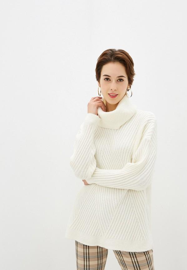 женский свитер by swan, белый