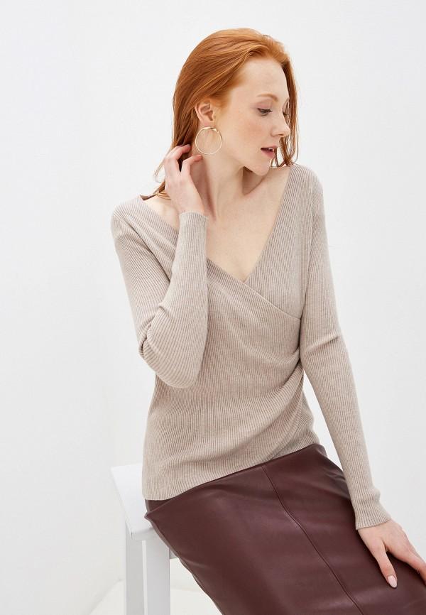 женский пуловер by swan, бежевый