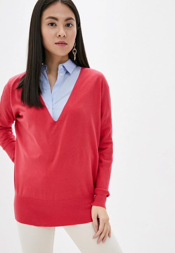 женский пуловер by swan, розовый