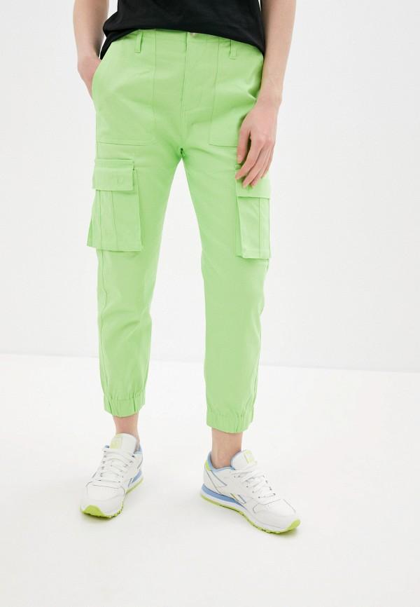 женские брюки by swan, зеленые