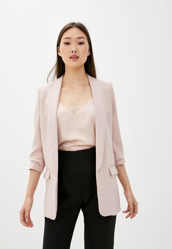 женский жакет by swan, розовый