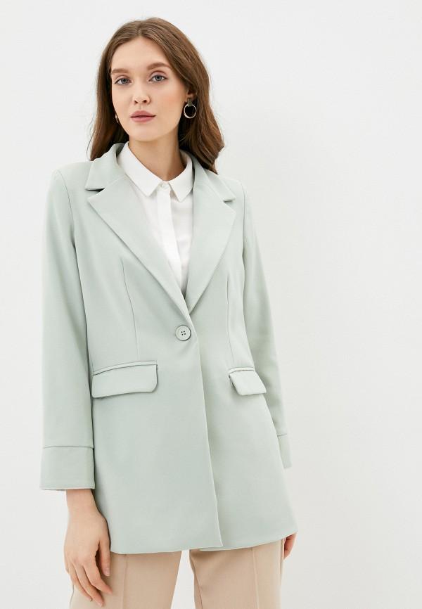 женский пиджак by swan, зеленый