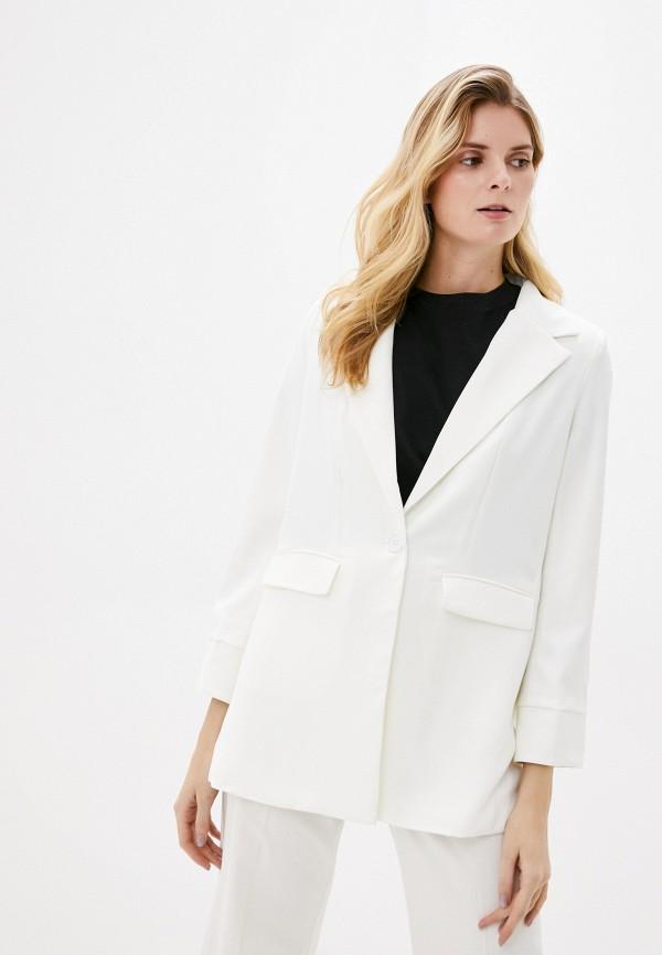 женский пиджак by swan, белый