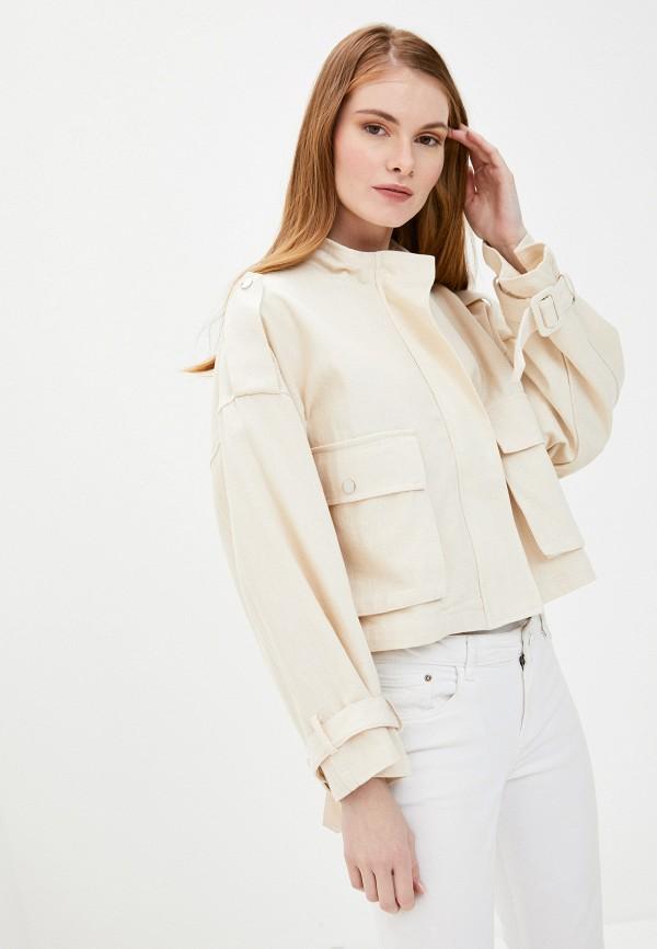 женская куртка by swan, бежевая