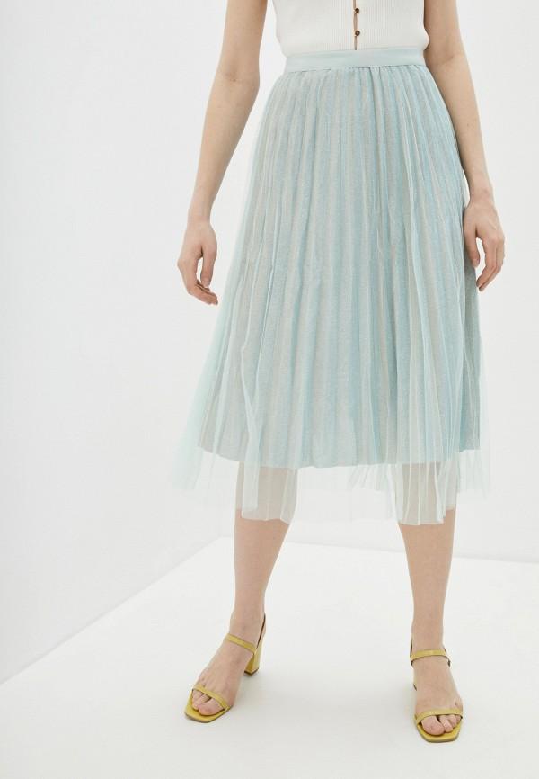 женская юбка by swan, зеленая