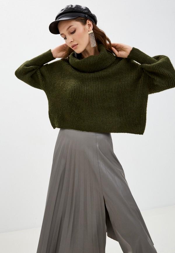 женский свитер by swan, зеленый