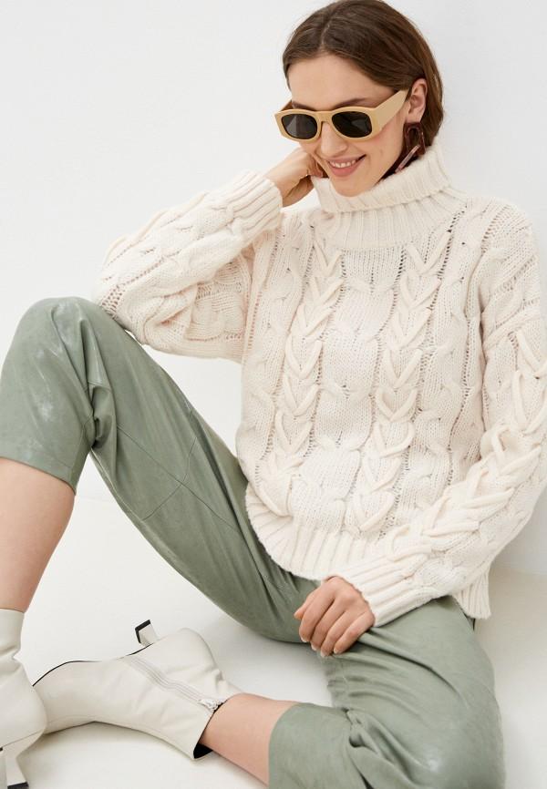 женский свитер by swan, бежевый