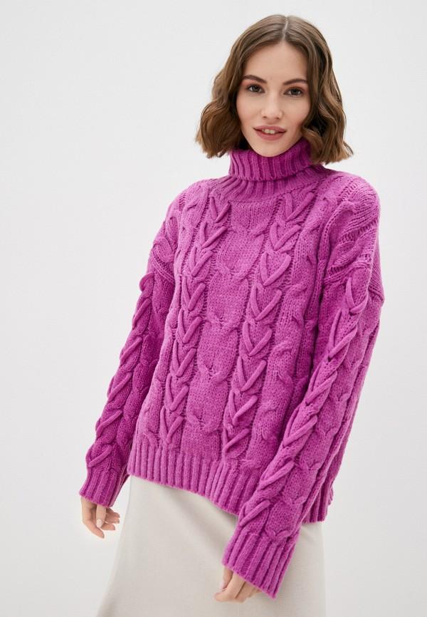 женский свитер by swan, фиолетовый