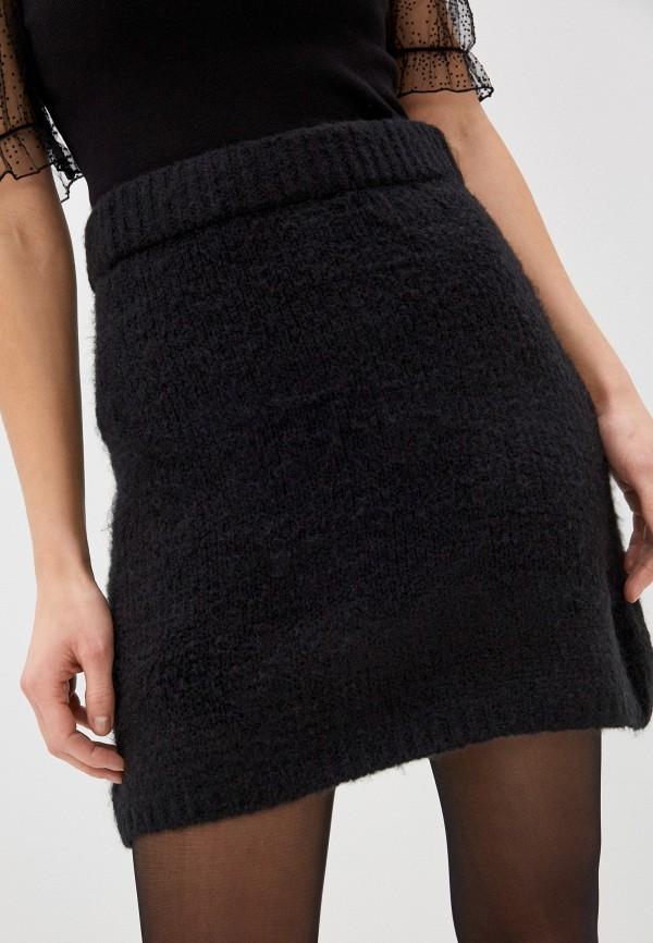 женская прямые юбка by swan, черная
