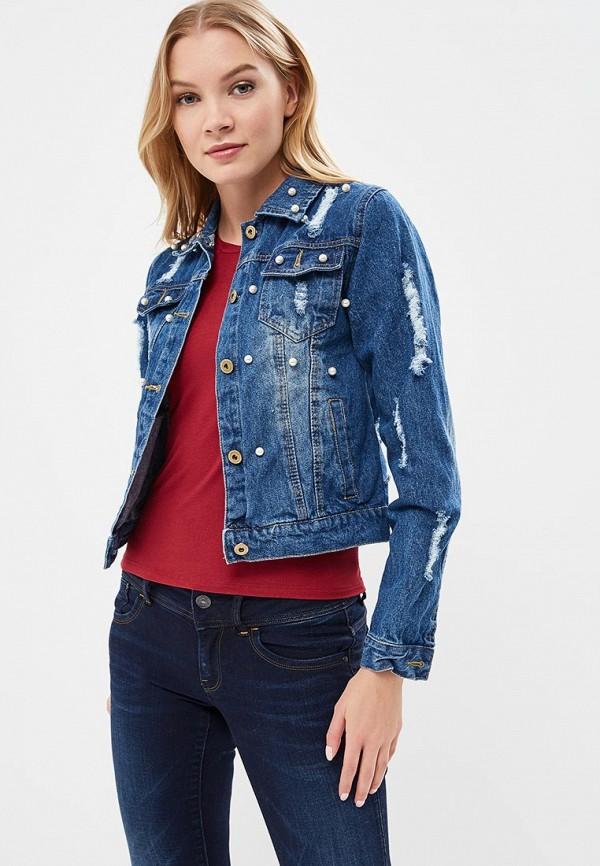 Купить Куртка джинсовая By Swan, by004ewrpm69, синий, Весна-лето 2018