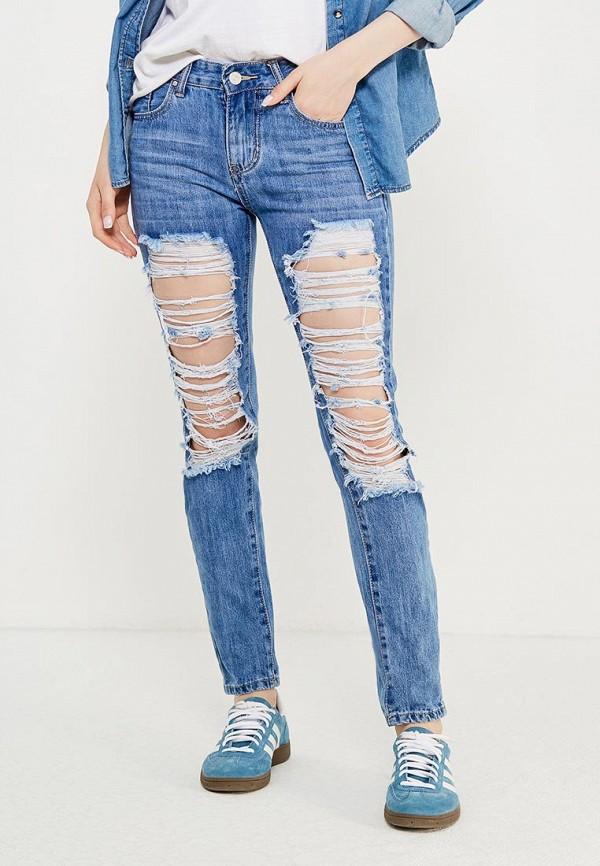 женские джинсы by swan, голубые