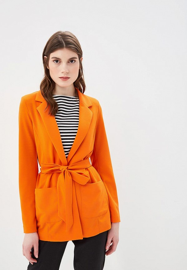 женский жакет b.young, оранжевый