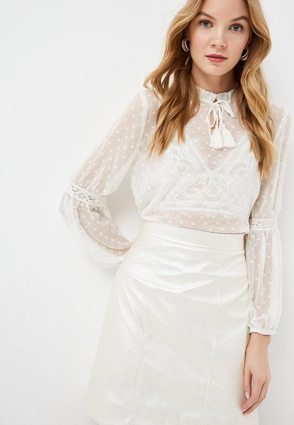 женская блузка b.young, белая