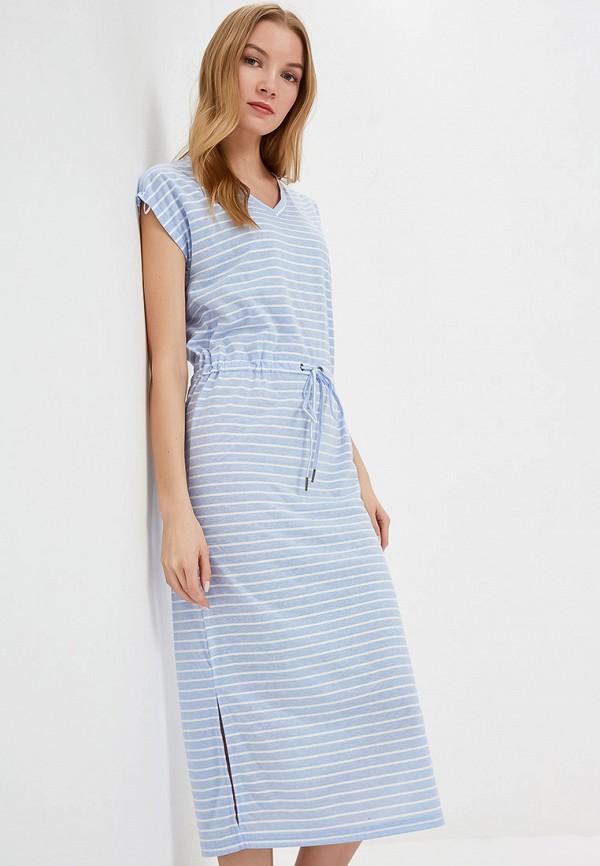 Фото - женское платье b.young голубого цвета