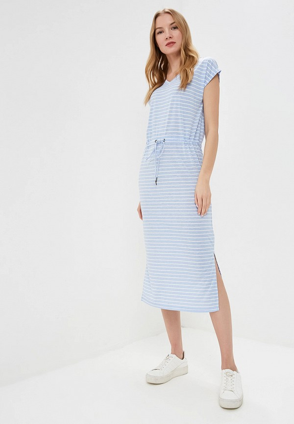 Фото 2 - женское платье b.young голубого цвета