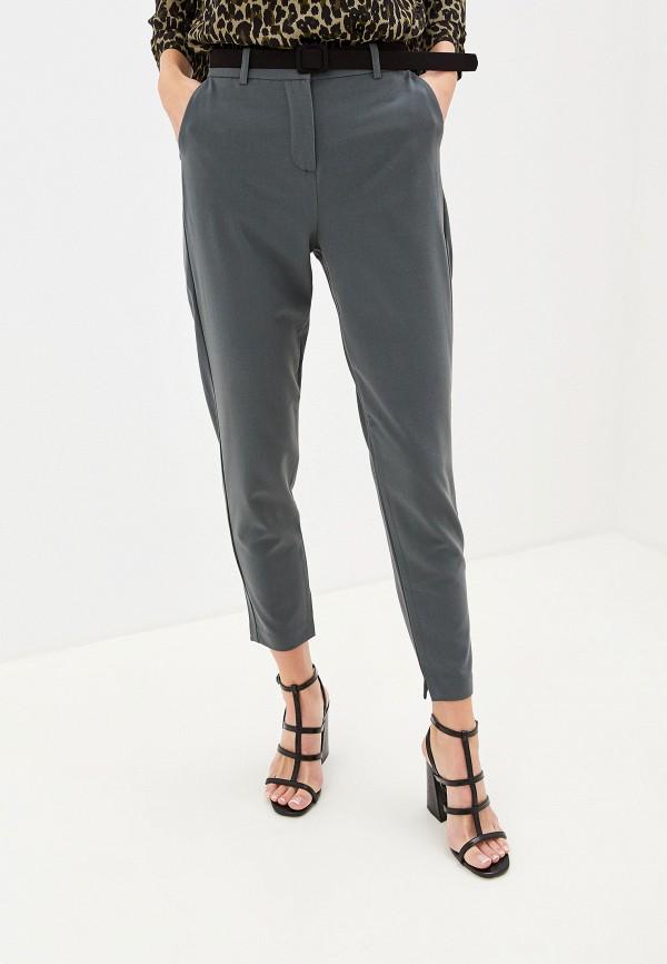 женские повседневные брюки b.young, хаки