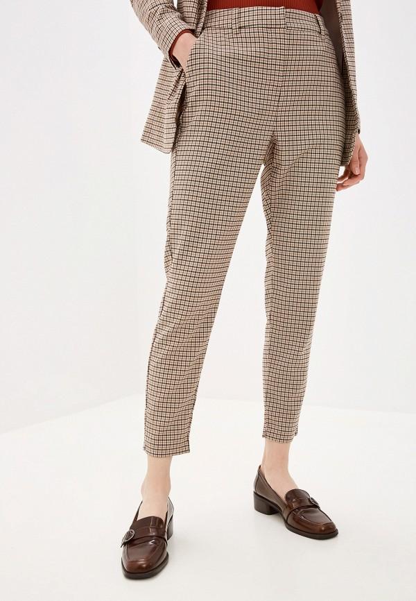 женские повседневные брюки b.young, бежевые