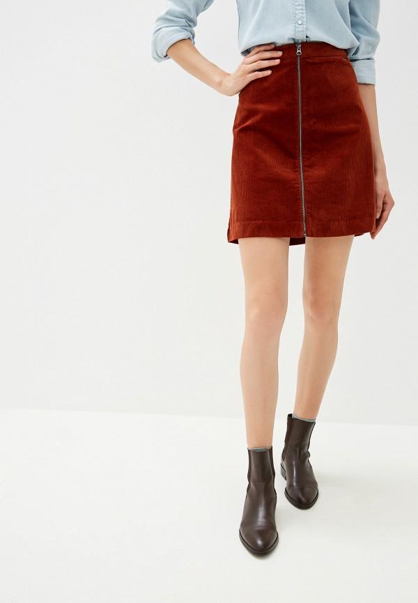 женская прямые юбка b.young, разноцветная