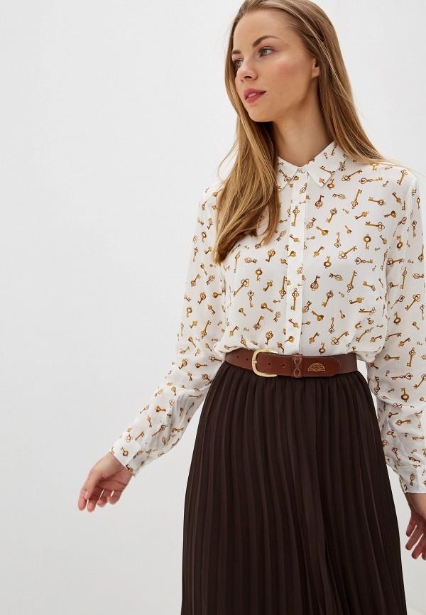 Купить Женскую блузку b.young белого цвета
