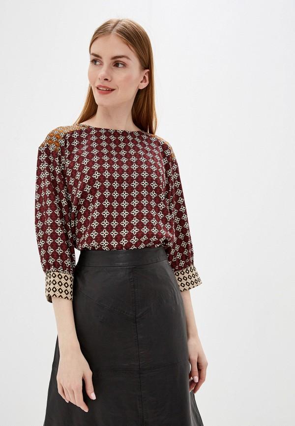 женская блузка b.young, бордовая