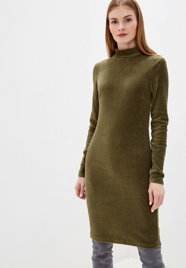 женское платье-футляр b.young, хаки