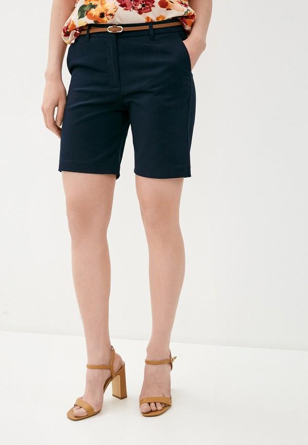 женские повседневные шорты b.young, синие