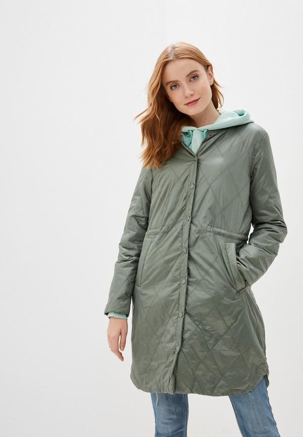 женская куртка b.young, зеленая