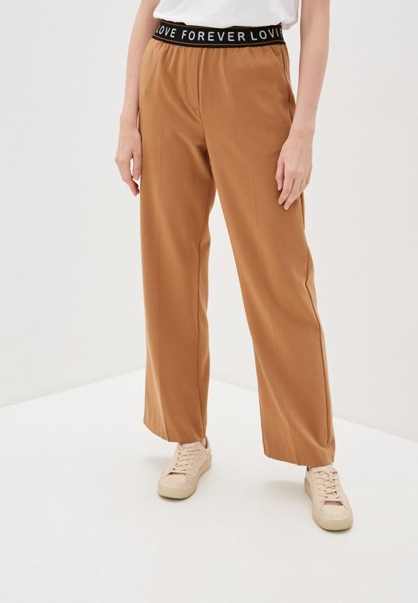 женские брюки b.young, бежевые