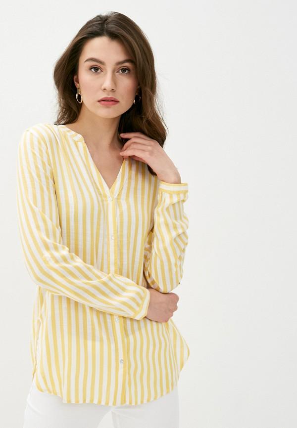 женская блузка b.young, желтая