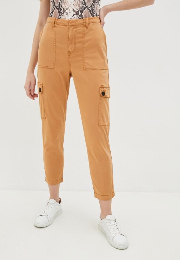 женские брюки b.young, коричневые