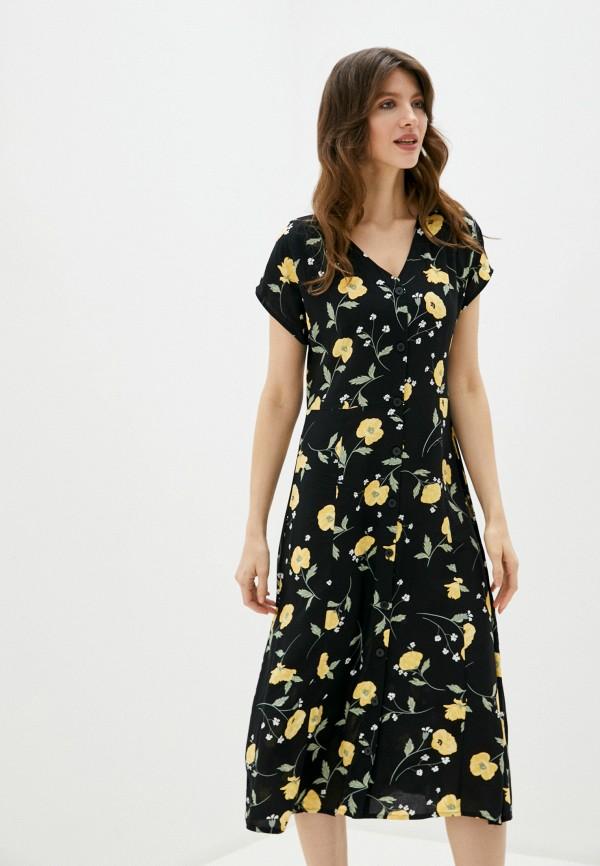 женское повседневные платье b.young, черное