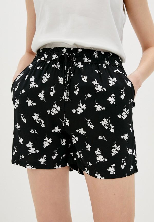 женские повседневные шорты b.young, черные