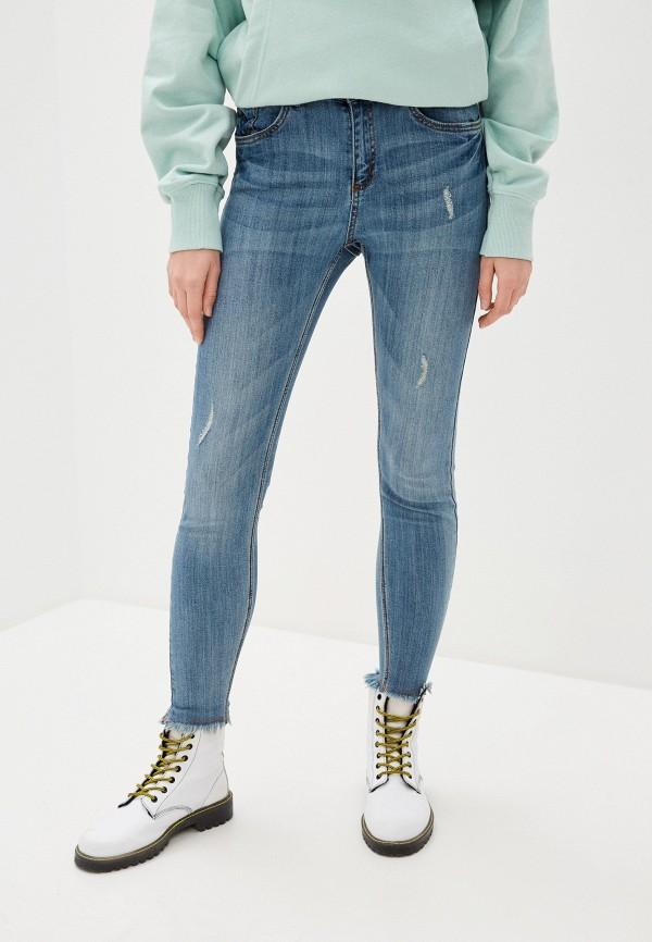женские джинсы b.young, синие