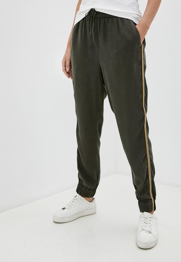 женские брюки b.young, зеленые