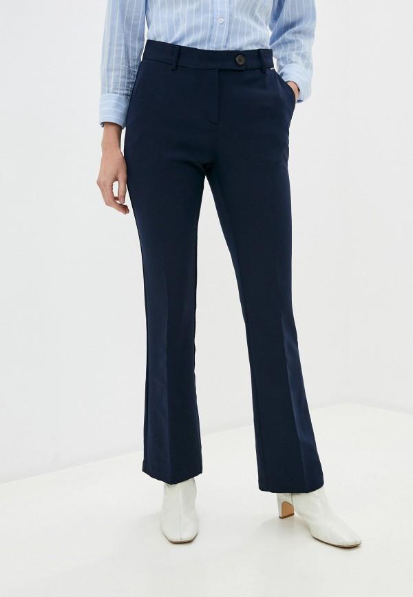женские классические брюки b.young, синие