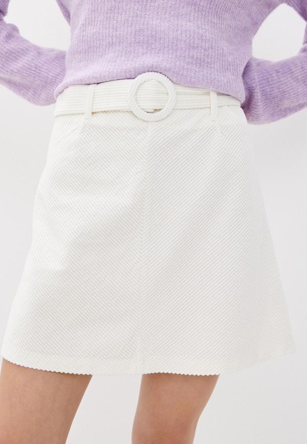 женская юбка b.young, белая