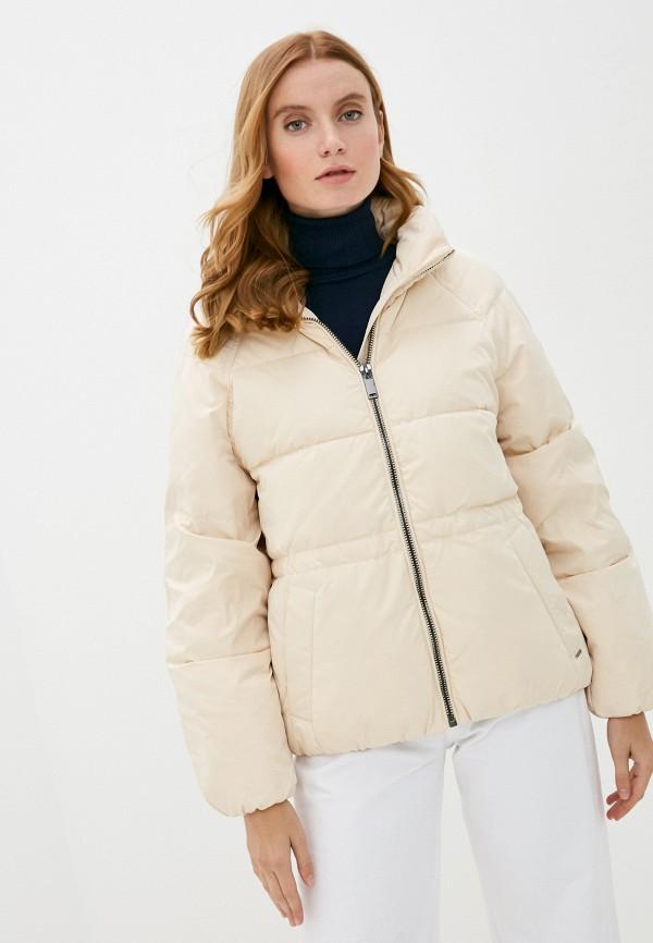 женская куртка b.young, бежевая